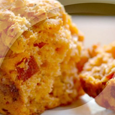 Muffins aux poivrons et tofu