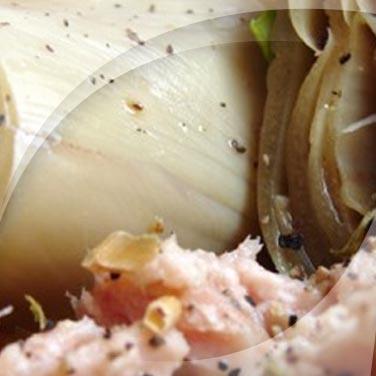 Salade de thon et légumes