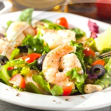Macédoine de légumes avec poisson