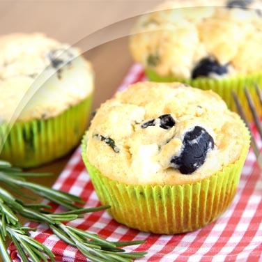 Muffins et olives noires