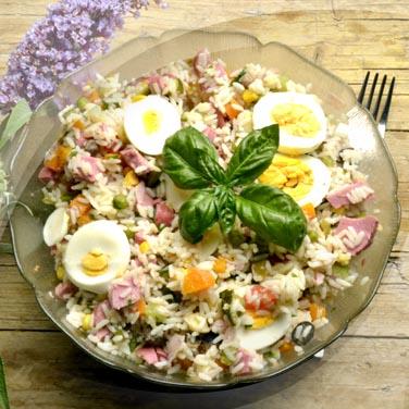 Salade Risopiù 16 légumes avec huile