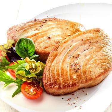 Roast Swordfish with Onions