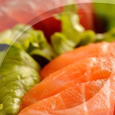 Saumon et thon en salade