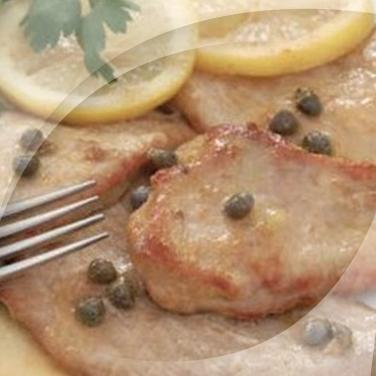 Escalope aux câpres et aux anchois